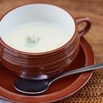 ロズ&マリー - 冬瓜の豆乳ポタージュ