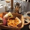 cafe 風車の丘 - 料理写真:パニーニバスケットセット¥350+ドリンク代