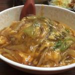ハングリーウィッチ - 中華風カツ丼 小650円