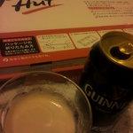 ピザハット - ギネス缶♪♪♪