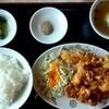 福龍 - 料理写真:唐揚げ定食