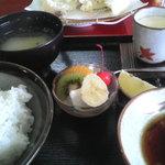 天ぷら 天吉 - 天ぷら定食