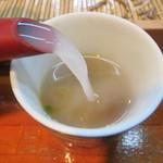 南阿蘇一心庵 - newトロトロの蕎麦湯は素晴らしい。