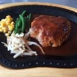 レイドバックカフェ - 料理写真:ハンバーグ150g