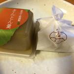 恵那川上屋  - 茶巾絞りの栗きんとんときんとん羹