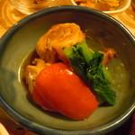 玄三庵 - メインは2種から 地鶏の葱巻き 梅あんかけ♪を選択♪