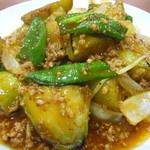 達磨 - ナスと挽き肉炒め