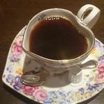 ラファミーユスユクル - カップがハート型のコーヒー