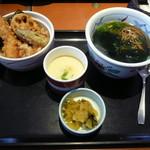和食さと - 料理写真:ミニ天丼セット