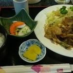豚太郎カサブランカ - 料理写真:2014年11月 しょうが焼き定食