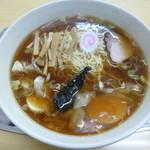 大勝軒 - '14/11/10 マイベスト~玉子入りワンタン麺(972円)