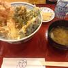 はげ天 - 料理写真:(上)天丼