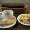 バレンタイン - 料理写真:ランチメニューに付いているスープ、パン(orライス)サラダ