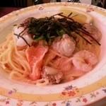 モッチモ・パスタ - 魚介のパスタ