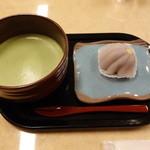 ういろう - 和菓子と抹茶のセット