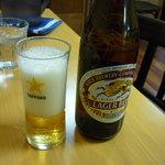 カレー家一興 - 瓶ビール