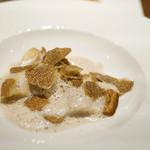 トムクリオーザ - パスタ2皿目はラビオリ。ポルチーニの香りたっぷり。