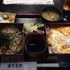 富士見庵 - 料理写真:かつ丼とざるそばのセット@1050円