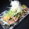 牛たん 荒  - 料理写真:牛たん炙りぽん酢