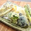 隠れ岩松 - 料理写真:特・天ぷら盛り合せ