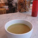 クンバ ドゥ ファラフェル - 豆のスープおいしい!
