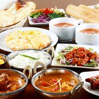 各種ご宴会承ります☆コースで南インド料理をご堪能下さい♪