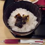 宮川本廛 - お替りのご飯。