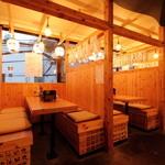 池田丸 - テーブル席