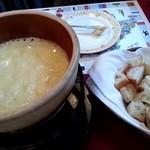 ル・シャレー - チーズフォンデュ1,600円