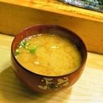 鮨大前 - 味噌汁