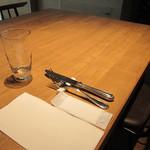 ルセット - 入り口に一番近いテーブル席