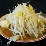 野菜みそラーメン 鬼首 - 二郎インスパイアー 豚ラーメン