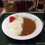 カレーショップ C&C - ポークカレー小盛り 2014.11