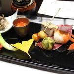 料亭旅館 いちい亭 - 〈夕食〉先付、前菜