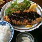 魚康 - マグロカツ定食