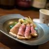 松やま - 料理写真:河内鴨と三関セリの冷し煮