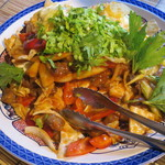 トゥアン - 野菜炒め