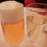 イルサーレ - 生ビールとスプマンテ