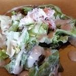32684981 - ずわい蟹のサラダ。