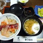 さかな料理まつばら - 桜まつり特別ランチ1000円(税込み)