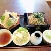 なかや本店 - 料理写真:天ざるそば1100円。