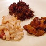 中華 うずまき - 前菜3品