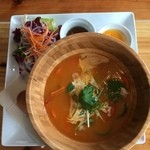 32699424 - 三浦野菜と海老のビスク