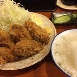 かつ壱 - 2011/11 天下一品 カキフライ