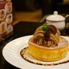 星乃珈琲店 - 料理写真:栗のスフレパンケーキ