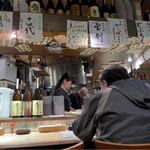 恵美寿屋 - この時はまだ梅しそチューハイ貼ってあったのよね