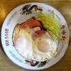 自由軒 - 料理写真:ハムエッグ¥400