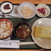 ふうみん庵 - 料理写真:かやくごはんセット800円デザート付
