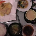 みはらし - 天ぷら膳(真上)
