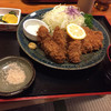 一福 - 料理写真:カキフライ&チキンカツ定食
